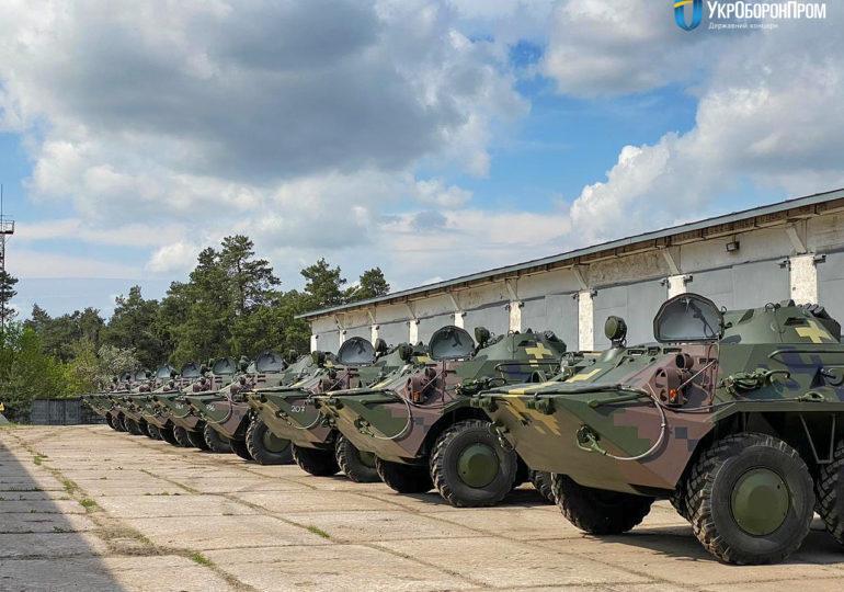 КБТЗ передав військовим партію відремонтованої бронетехніки