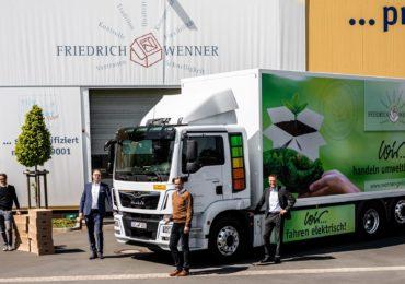 Електричний MAN eTGM для компанії Friedrich Wenner GmbH.