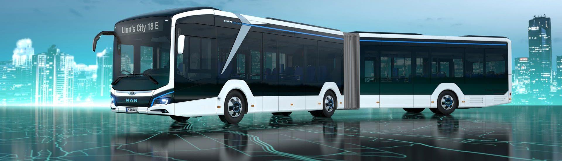 MAN презентує новий електричний автобус MAN Lion's City 18E