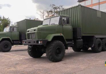 У Харкові для потреб ЗСУ передано 2 лазне-пральних комплекси. Відео.