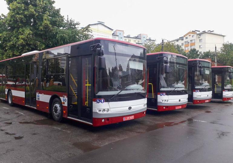 10 нових сучасних автобусів «Богдан» вийдуть на маршрут у Івано-Франківську