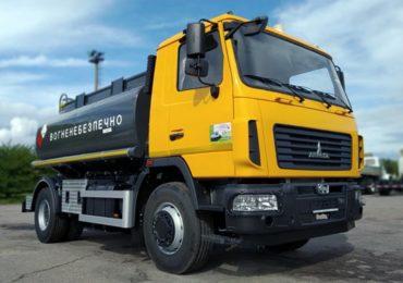 Завод спецтехніки Техкомплект виготовив паливозаправник на шасі МАЗ-5340