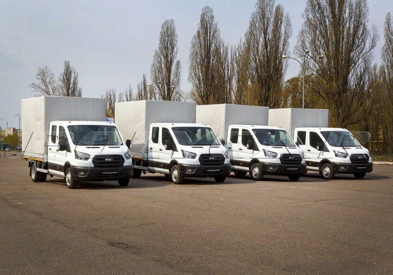 Компанія «Полікар» завершила виробництво партії автомобілів Ford Transit.