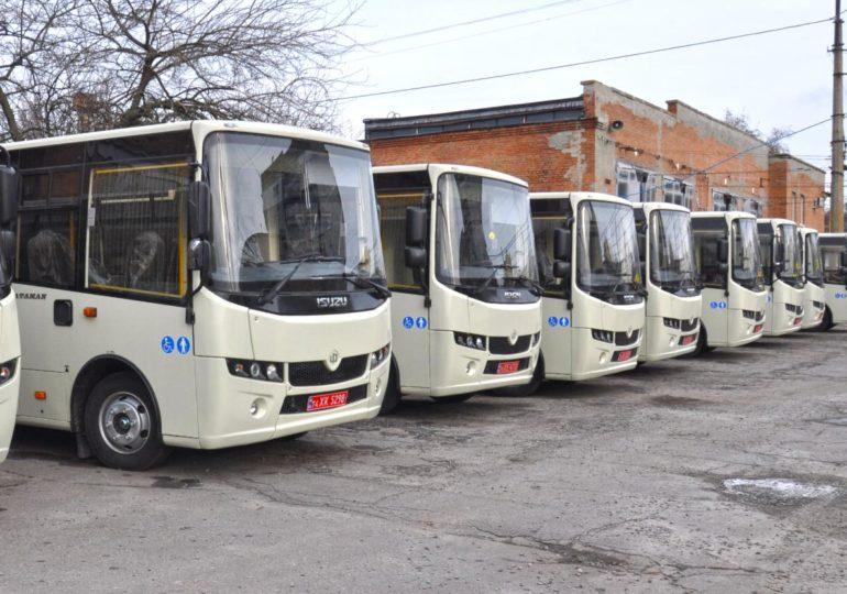 Автопарк Полтави поповниться дев'ятьма новими автобусами Ataman