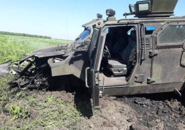 КрАЗ-Спартан врятував життя десятьом військовослужбовцям на Донбасі