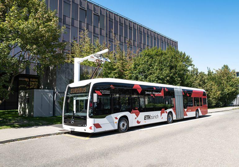 Електробуси Mercedes-Benz eCitaro G почали обслуговувати пасажирські маршрути Цюріха