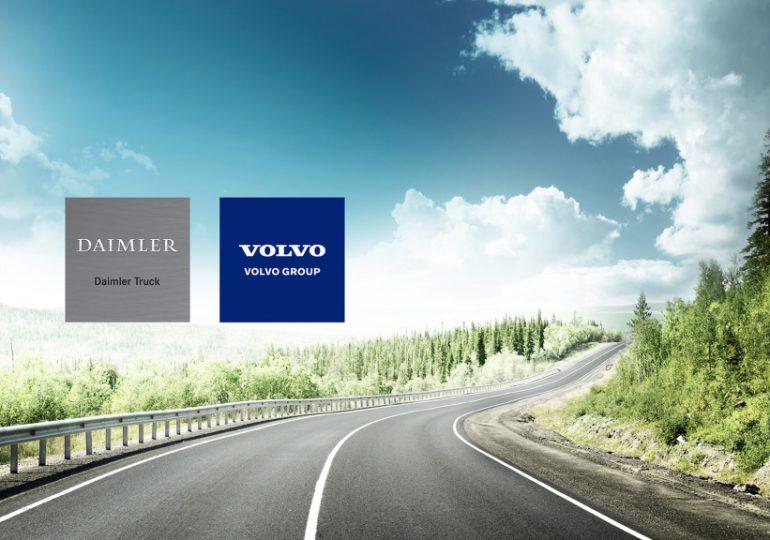 Volvo Group та Daimler Truck AG об'єднуються для виробництва паливних елементів
