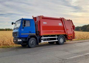«АЛЬФАТЕКС» презентував оновлений сміттєвоз