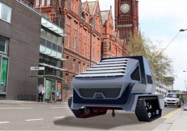 У Великобританії розробляють робота для ямкового ремонту доріг