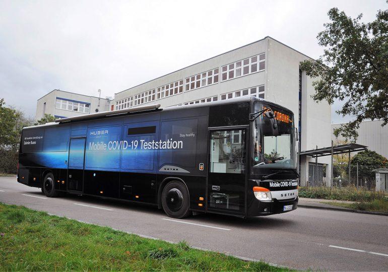 Setra показала унікальний автобус-лабораторію для боротьби з COVID-19