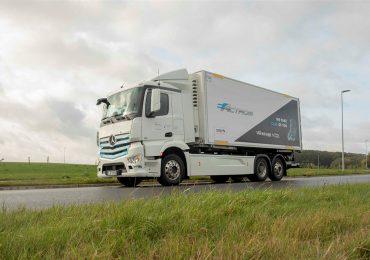 Mercedes-Benz Trucks продовжує випробування електровантажівки eActros
