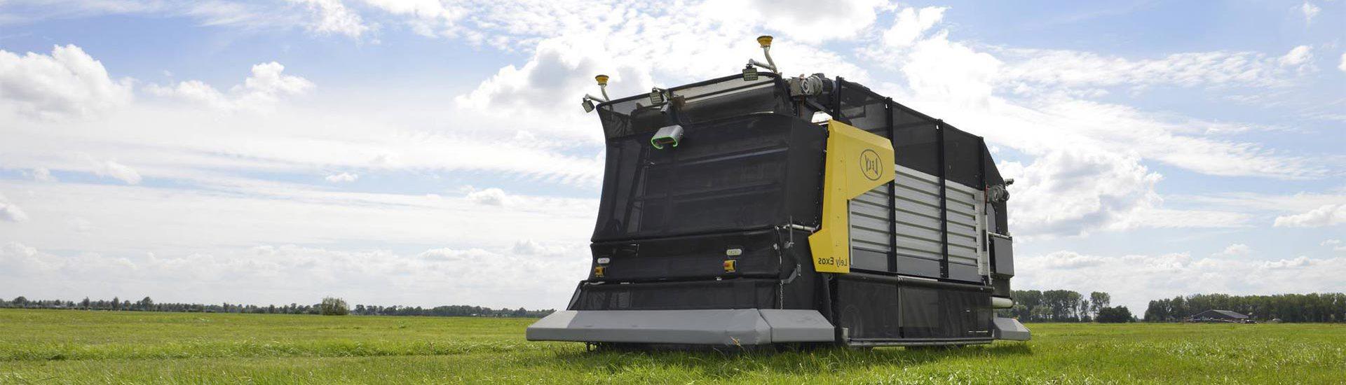 Lely тестує автономний сільськогосподарський електромобіль Exos