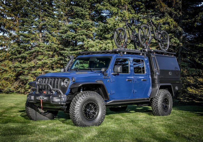 Ательє Mopar представило варіант оснащення пікапу Jeep Gladiator для прихильників гірських велосипедів