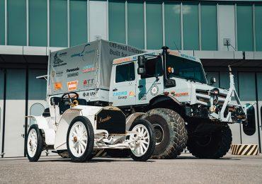 Дві епохи: на полігоні Daimler зустрілися Unimog і Simplex