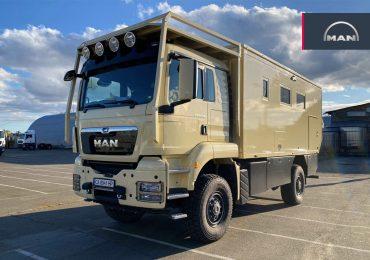 Ідеальна машина для мандрівників: в Україні представили дім на колесах на базі MAN