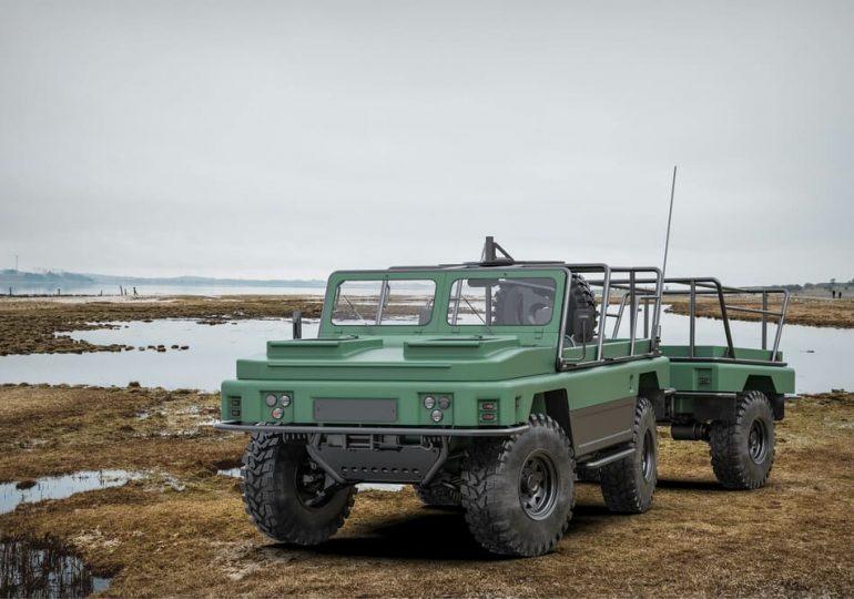 Дизайнери з України показали концепт плаваючого автомобіля