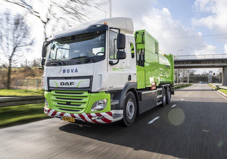 Перший сміттєвоз DAF CF Electric працює у компанії з утилізації побутових відходів