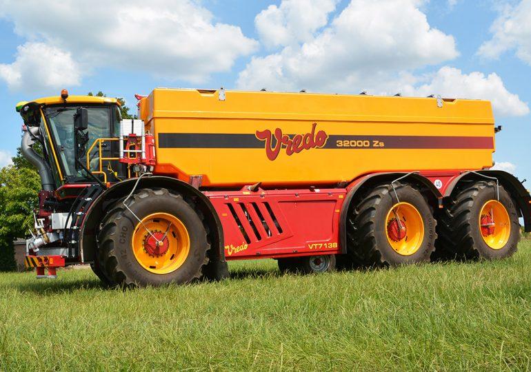 Vredo представив нову самохідну машину VT7138