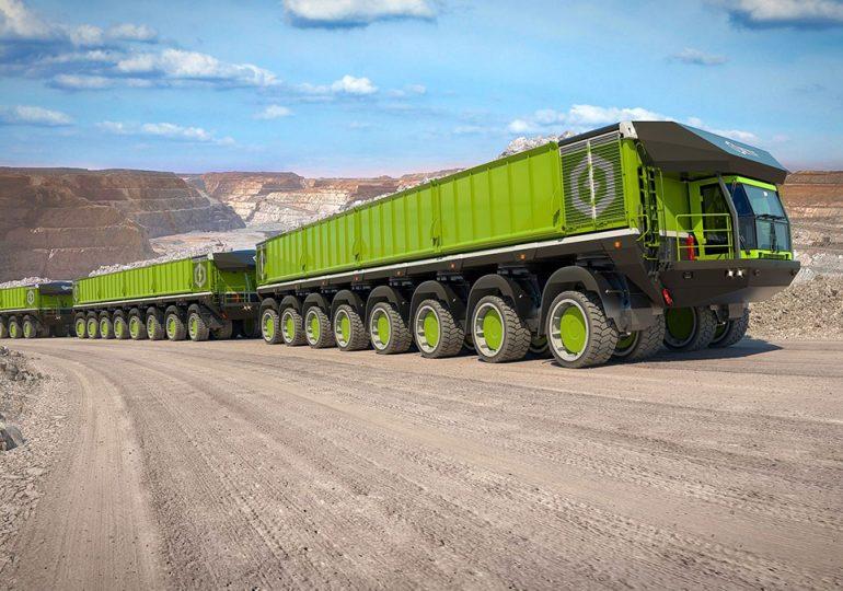 ETF Trucks пропонує автопоїзд вантажопідйомністю 6000 тонн