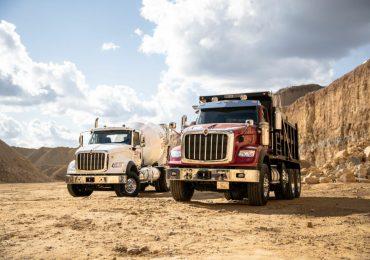 Navistar запускає нову серію вантажівок International HX, орієнтованих на будівельний сектор