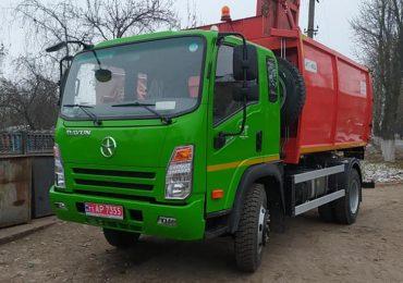 Буринська ОТГ Сумської області отримала новий сміттєвоз