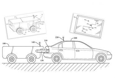Toyota патентує дрон для заправки автомобілів просто в дорозі