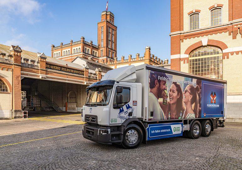 Carlsberg Group переходить на електричні вантажівки разом з Renault Trucks