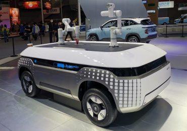 Самохідні візки-роботи: в Китаї показали, як виглядатиме транспорт майбутнього
