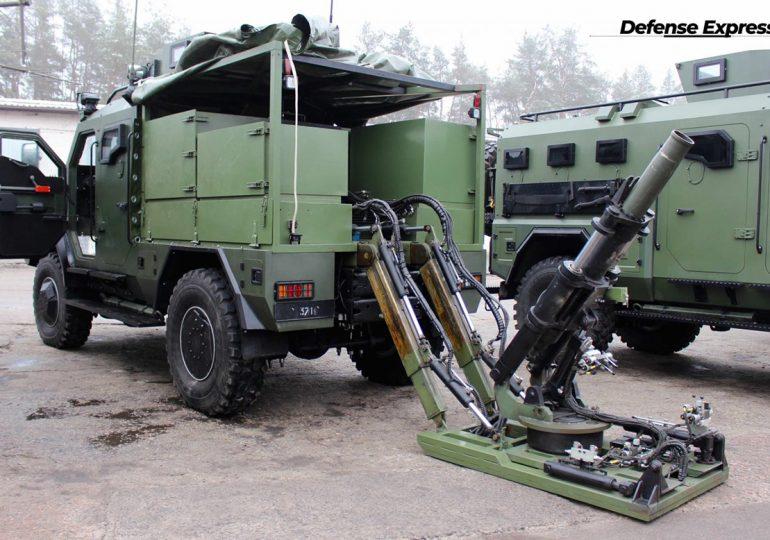 «Українська бронетехніка» показала мобільну мінометну платформу на базі «Варти»