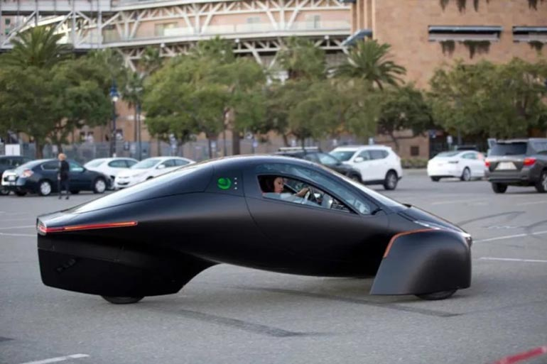 Анонсовано електромобіль на сонячних батареях із запасом ходу у 1600 км