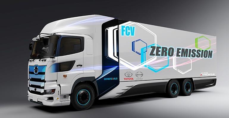 Toyota і Hino Motors впроваджують легкі електровантажівки на паливних елементах