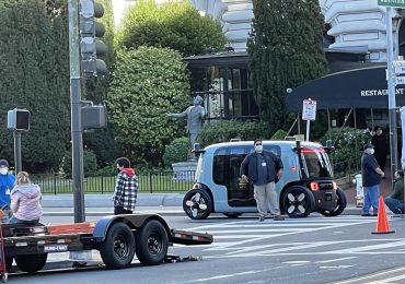 Безпілотний автомобіль Amazon Zoox був помічений на вулицях Сан-Франциско