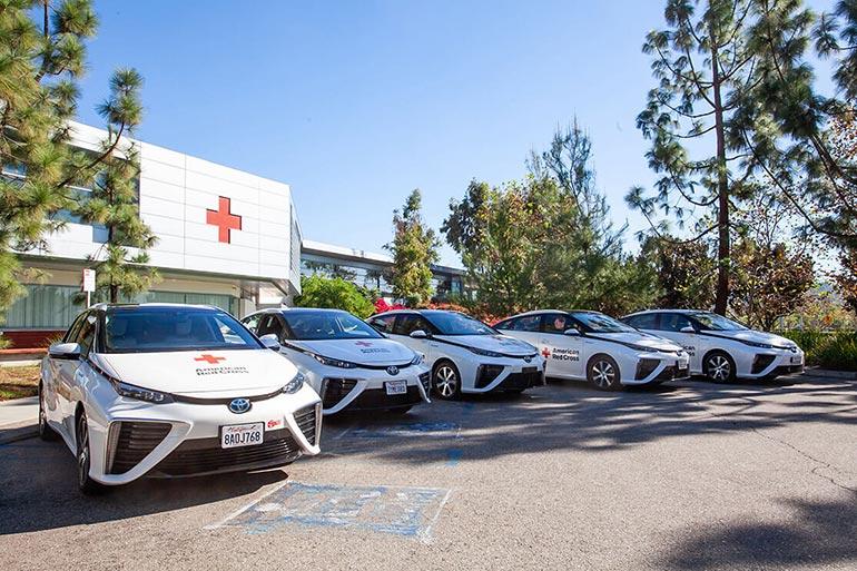Toyota Mirai істотно озеленить автопарк міжнародної гуманітарної організації