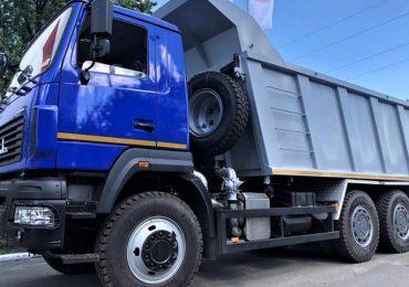Ринок вантажних автомобілів України зустрічає новий автомобіль марки МАЗ