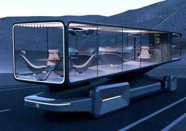 Mercedes-Benz представив незвичайний концепт автобуса. Відео