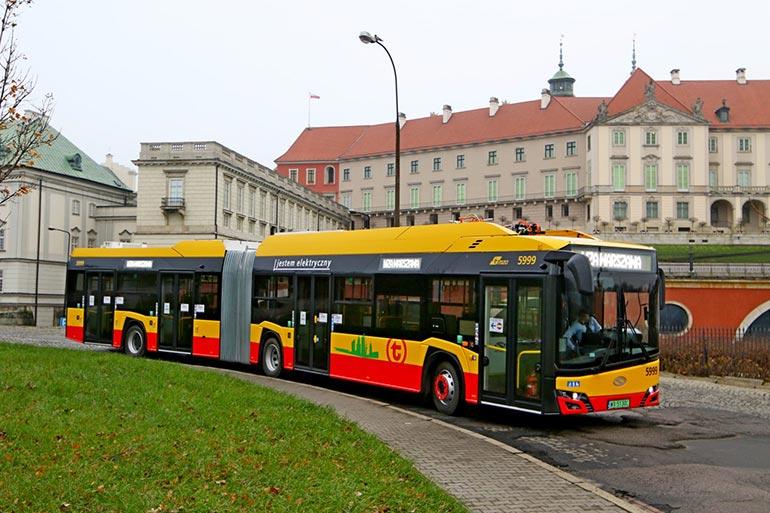 130 електробусів Solaris Urbino IV 18 Electric отримала Варшава