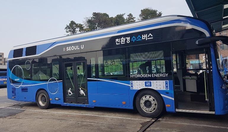 Нова енергія: у Південній Кореї вийшов на маршрут перший водневий автобус