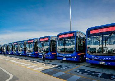 BYD поставила велику партію електробусів в Колумбію