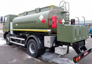 Паливозаправник на базі МАЗ надійшов до однієї з військових частин