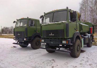 Автопарк ДПСУ поповнився двома новими паливозаправниками на шасі МАЗ