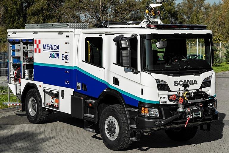 Знайомтеся: американський пожежний автомобіль Oshkosh на шасі Scania