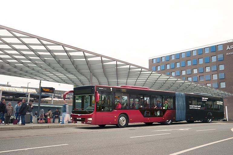 Транспортна компанія Volánbusz замовила велику партію автобусів MAN