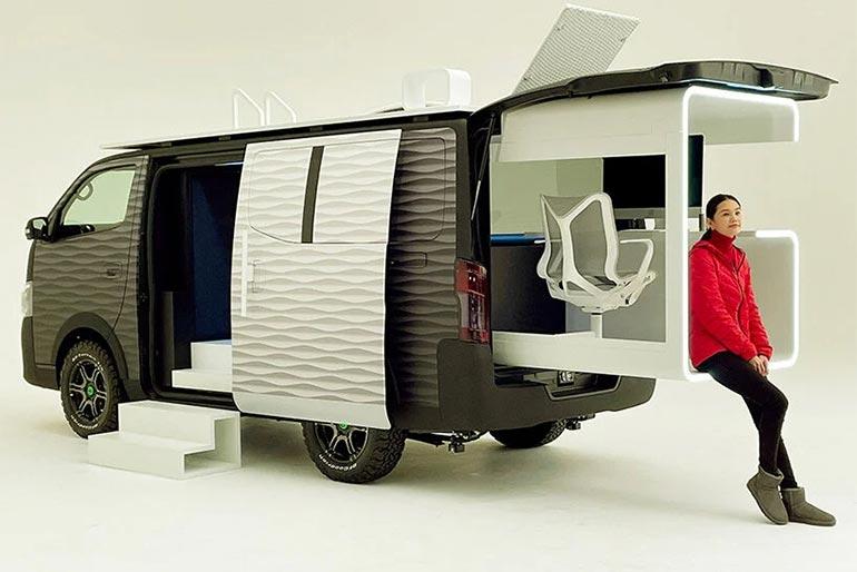 У NISSAN створили офіс на колесах для зручної роботи під час локдауну