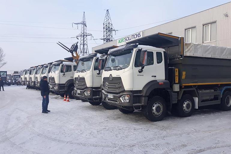 Компанія «СЛАВДОРСТРОЙ» повідомила про чергове поповнення власного автомобільного парку