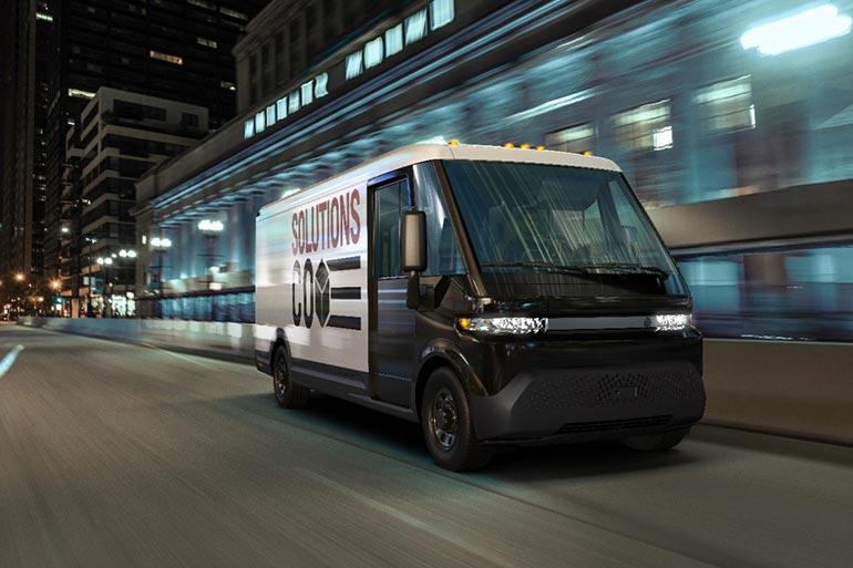 GM представила новий комерційний електромобіль і логістичну екосистему BrightDrop