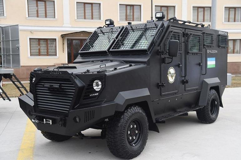 Новий броньований автомобіль Узбекистану — Qalqon