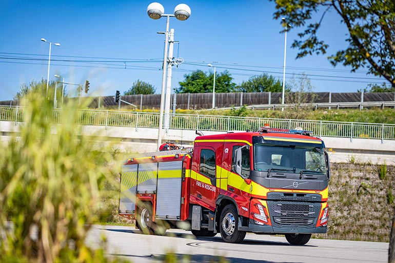 Volvo Trucks представила нову сучасну кабіну для пожежно-рятувальних служб