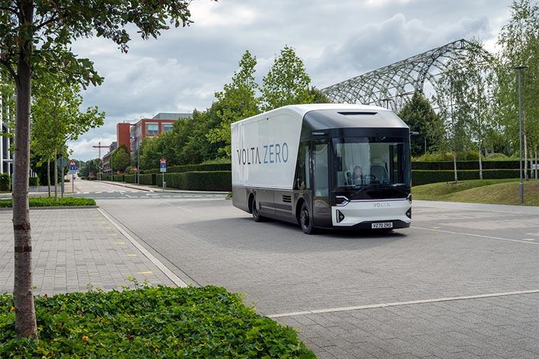 Електричні вантажівки Volta Zero: вже є замовлення на 260 млн доларів