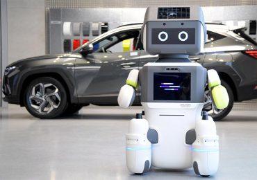 В автосалонах Hyundai працює робот DAL-e, призначений для обслуговування відвідувачів