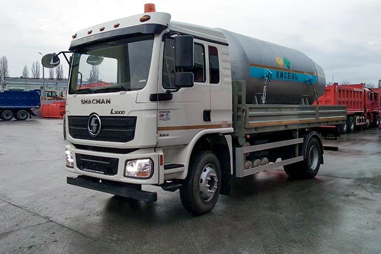 Кременчук придбав автомобіль для перевезення медичного кисню